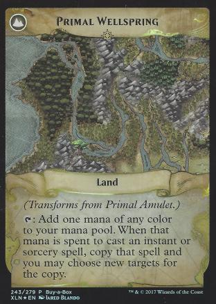 Primal Amulet (Primal Wellspring BIBB Alt Art)