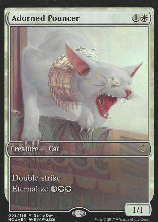 Adorned Pouncer (Full Art Game Day)