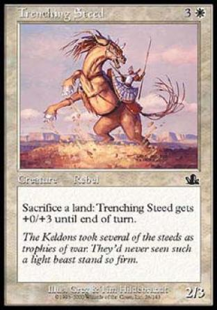 Trenching Steed