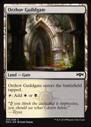 Orzhov Guildgate 2