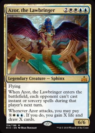 Azor, the Lawbringer