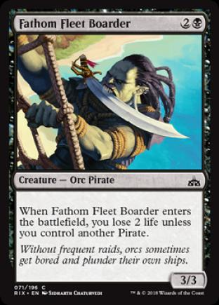 Fathom Fleet Boarder