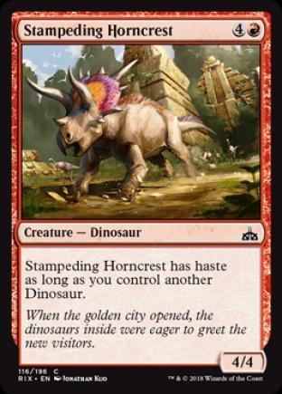Stampeding Horncrest