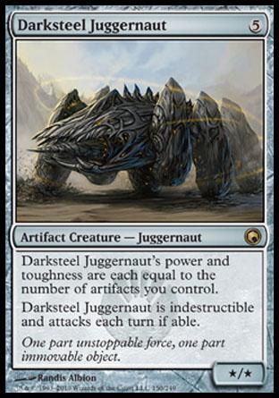 Darksteel Juggernaut