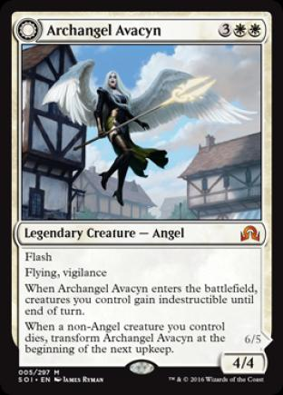 Archangel Avacyn (Ayacyn the Purifier)