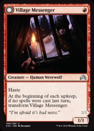 Village Messenger (Moonrise Intruder)