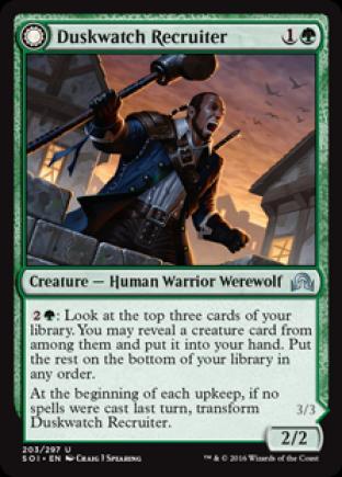 Duskwatch Recruiter (Krallenhorde Howler)