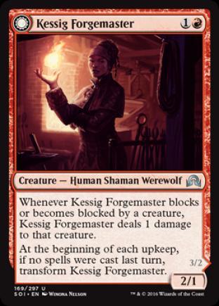 Kessig Forgemaster (Flameheart Werewolf)