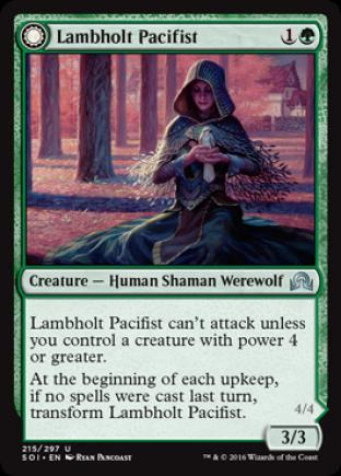 Lambholt Pacifist (Lambholt Butcher)