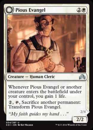 Pious Evangel (Wayward Disciple)