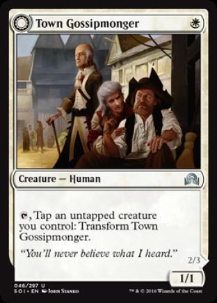 Town Gossipmonger (Incited Rabble)
