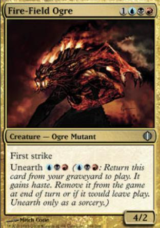 Fire-Field Ogre