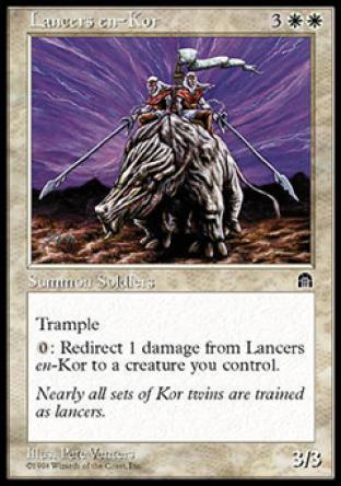 Lancers en-Kor