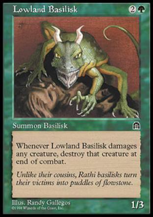 Lowland Basilisk