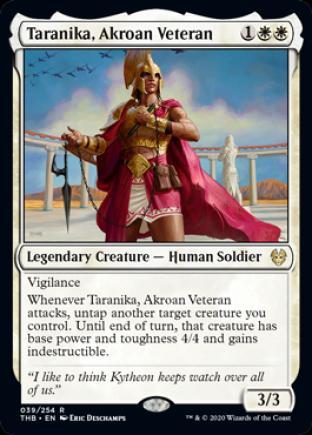 Taranika, Akroan Veteran