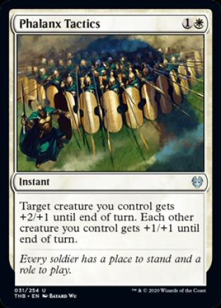 Phalanx Tactics