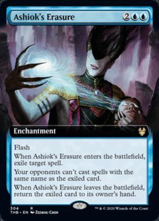 Extended Art Ashiok's Erasure