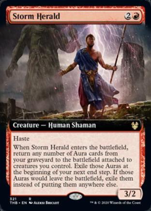 Extended Art Storm Herald
