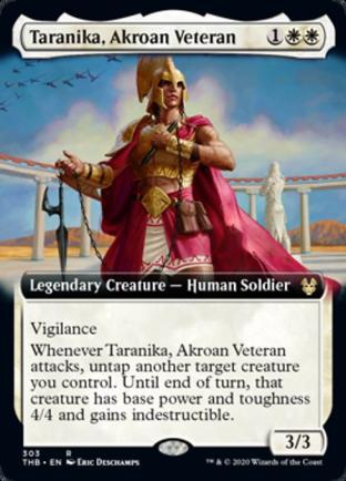 Extended Art Taranika Akroan Veteran