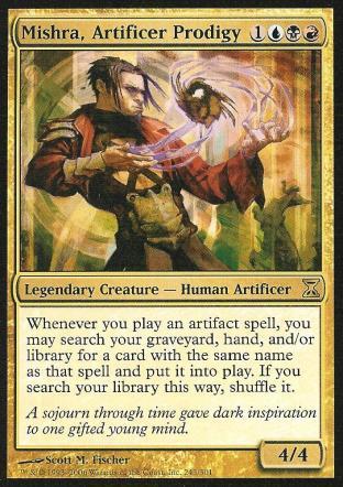 Mishra, Artificer Prodigy