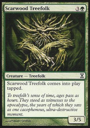 Scarwood Treefolk