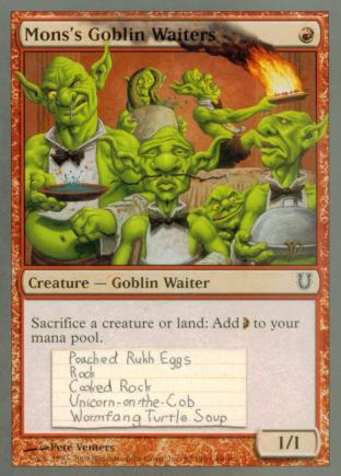 Mons's Goblin Waiters