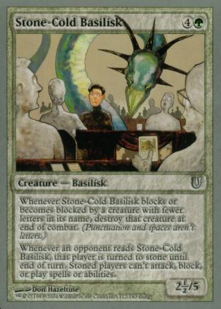 Stone-Cold Basilisk