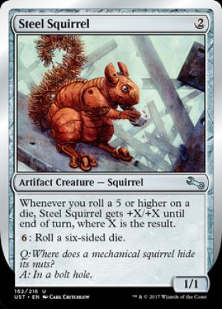 Steel Squirrel