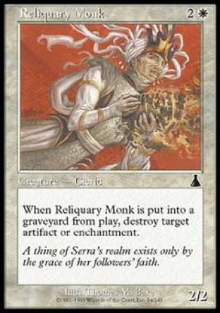Reliquary Monk