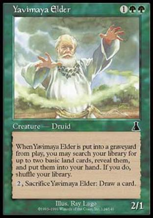 Yavimaya Elder