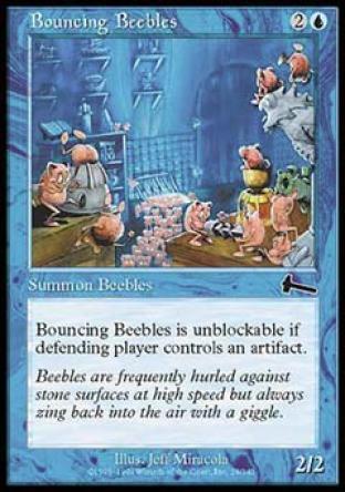 Bouncing Beebles