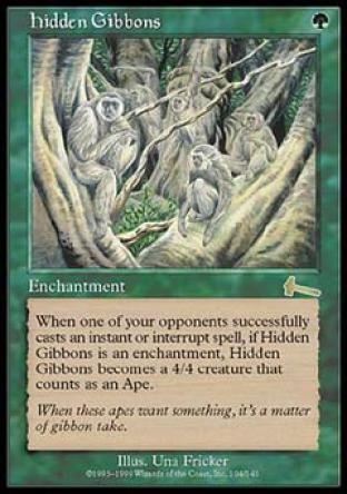 Hidden Gibbons