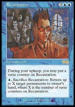 Recantation