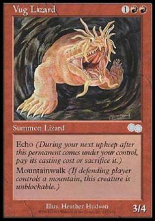 Vug Lizard