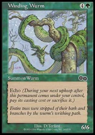 Winding Wurm