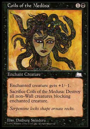 Coils of the Medusa