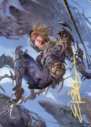 Blackbloom Rogue Art Card (Gold Stamped Signature)