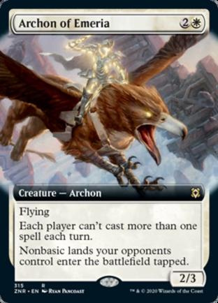 Extended Art Archon of Emeria