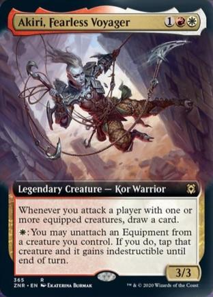 Extended Art Akiri, Fearless Voyager