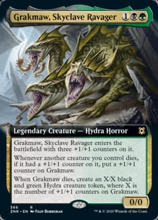 Extended Art Grakmaw, Skyclave Ravager
