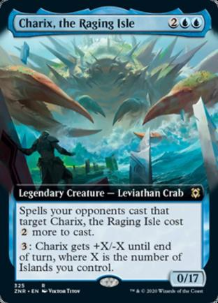 Extended Art Charix, the Raging Isle