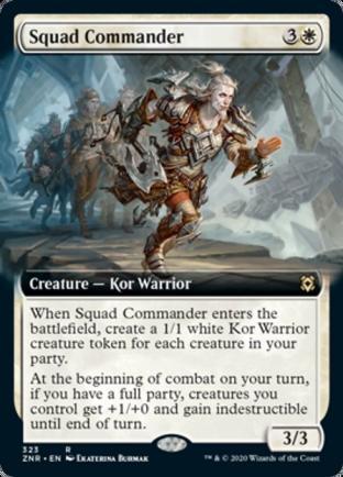 Extended Art Squad Commander