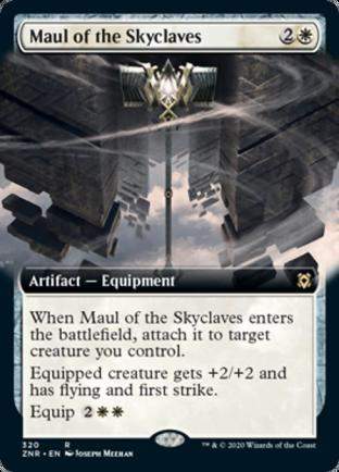 Extended Art Maul of the Skyclaves