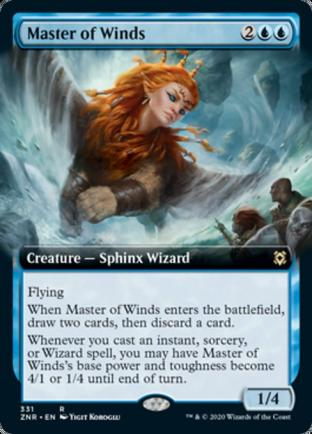 Extended Art Master of Winds