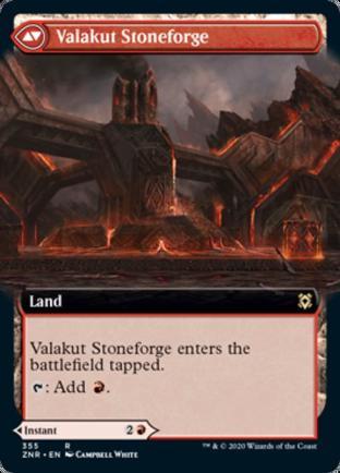 Extended Art Valakut Awakening Valakut Stoneforge