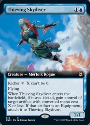 Extended Art Thieving Skydiver