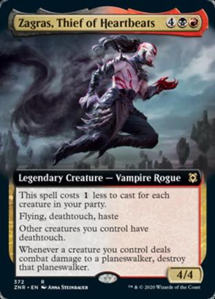 Extended Art Zagras, Thief of Heartbeats