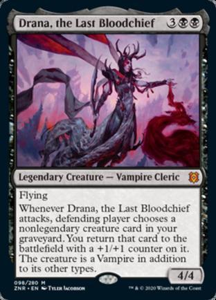 Drana, the Last Bloodchief