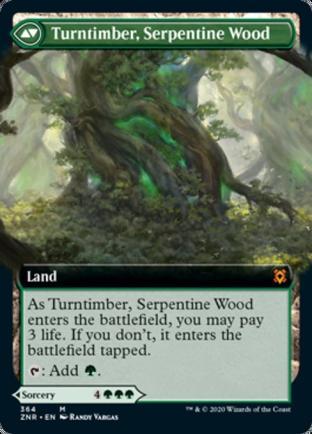 Turntimber, Serpentine Wood (364)