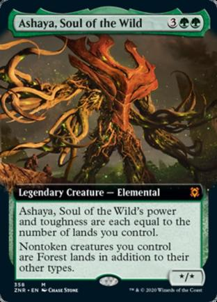 Extended Art Ashaya, Soul of the Wild